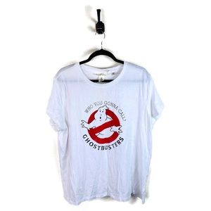 5 for $30 H&M Ghostbusters T-Shirt White Size XL